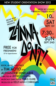 "Don't miss ""Zanna, Don't!"""